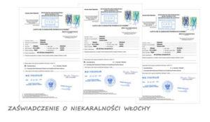 Zaświadczenie o niekaralności Bułgaria